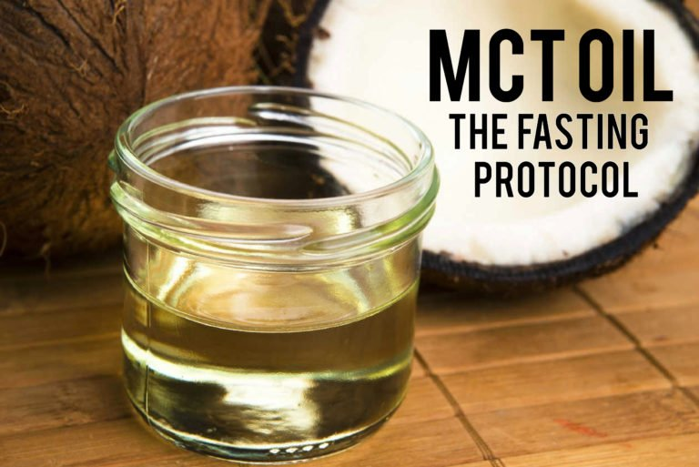 MCT Oil is your best choice to break the fast