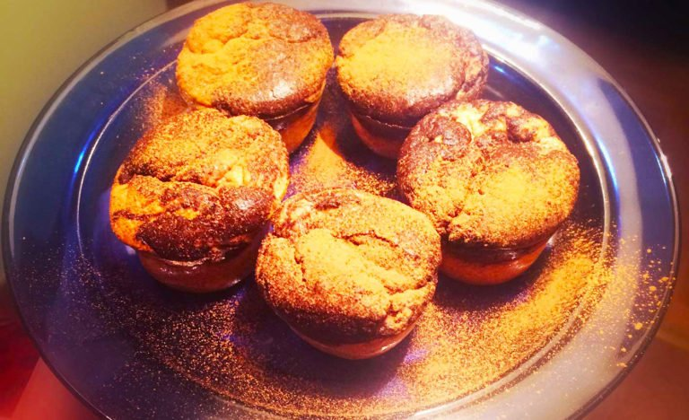 Keto muffins with the Mediterranean essence of life