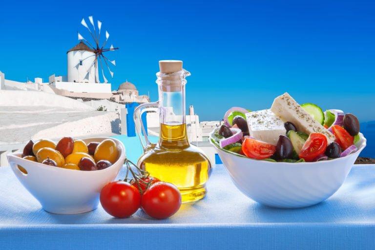 World-famous Greek salad with Keto macros