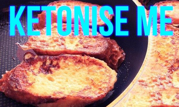 French toast or Keto Avgofetes – Greek version