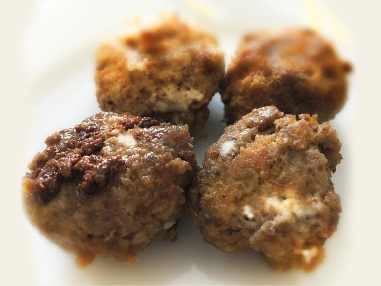 Feta cheese meatballs – the simplicity of Keto Carnivore diet