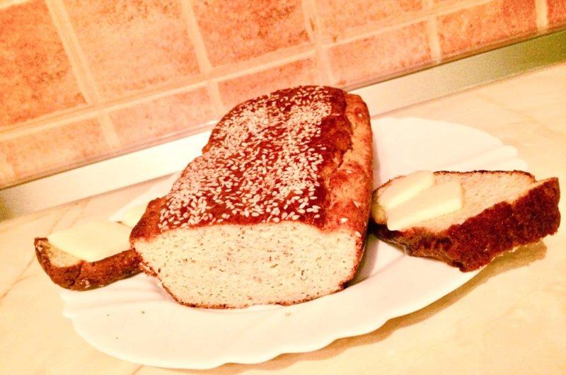 Eggless Keto bread