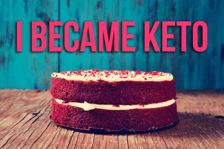 Keto Red Velvet Cake – Greek goes to USA
