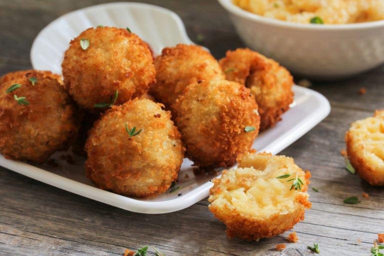 Fried cheese balls – Keto version of Greek Tirokroketes