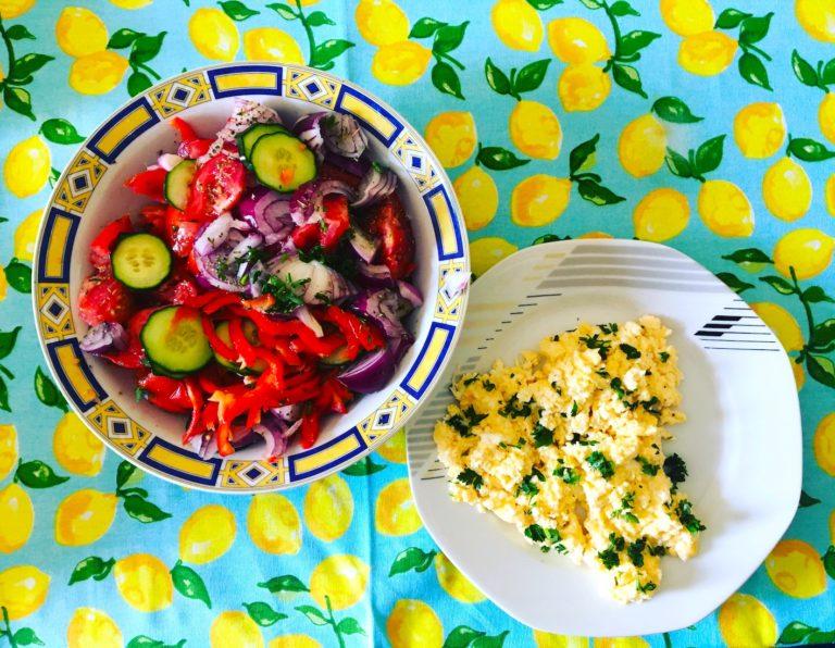 Creamy Keto eggs for Hercules empowerment