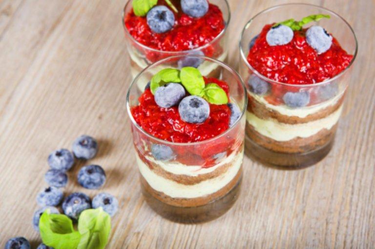 Keto coffee dessert – when sudden guests arrive