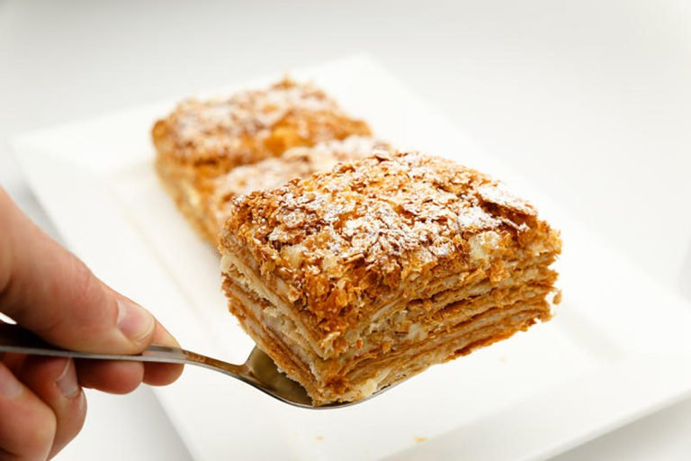 Keto Mille-feuille – When the French culture conquered Greece