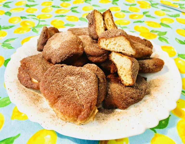 Keto Tiganites or Fritule – Mediterranean mini doughnuts