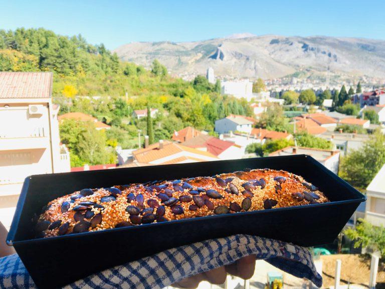 Pumpkin Seed Keto Bread