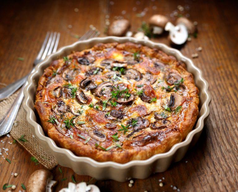 Keto Manitaropita – Greek Mushroom Pie