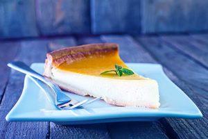 Keto milk pie