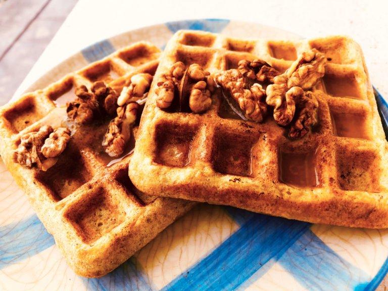Keto Karidopita Waffles – Quick fix