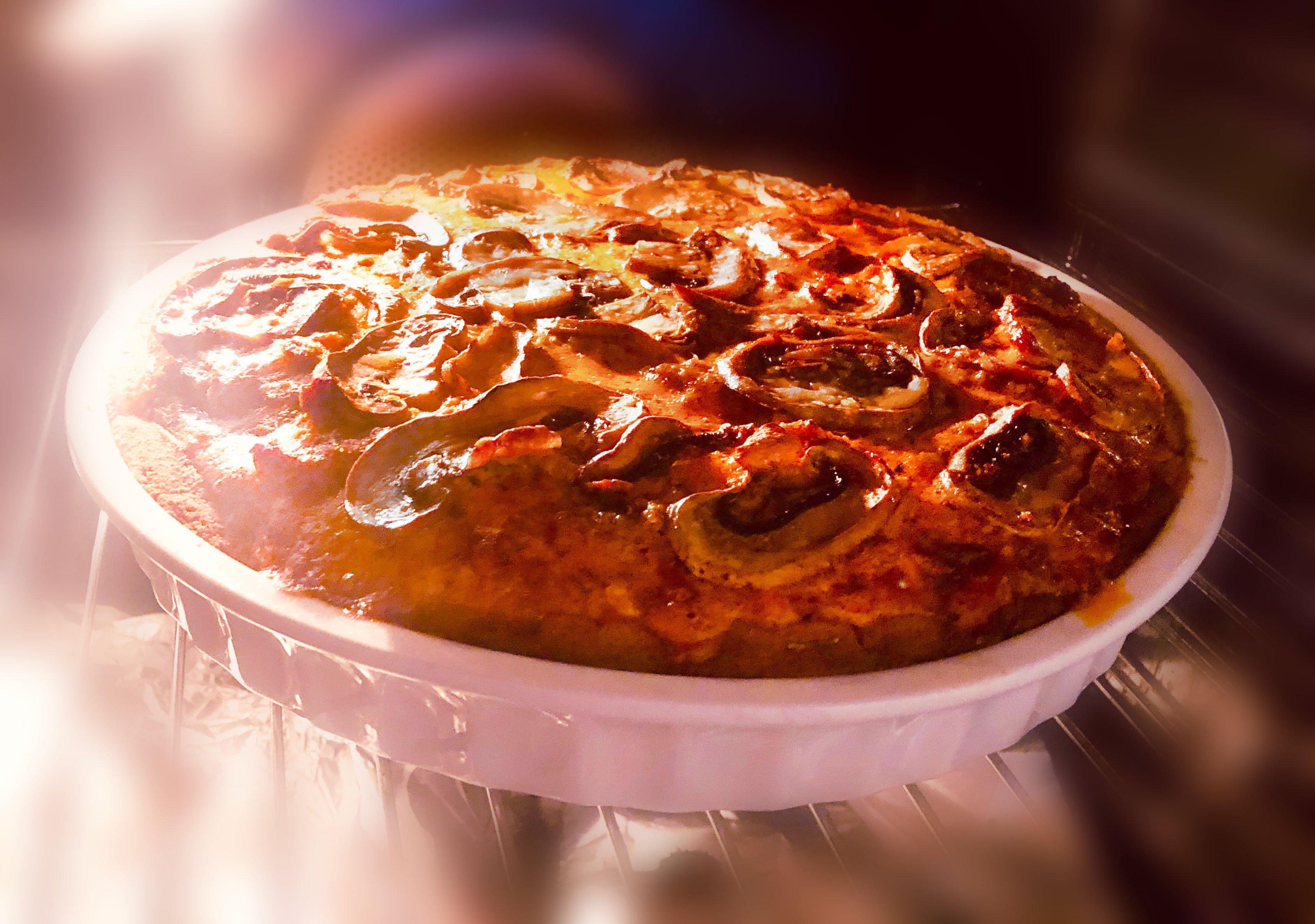 Meat & Mushroom Pie