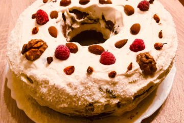 Keto fruitcake