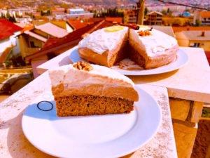 Oriental wind keto cake