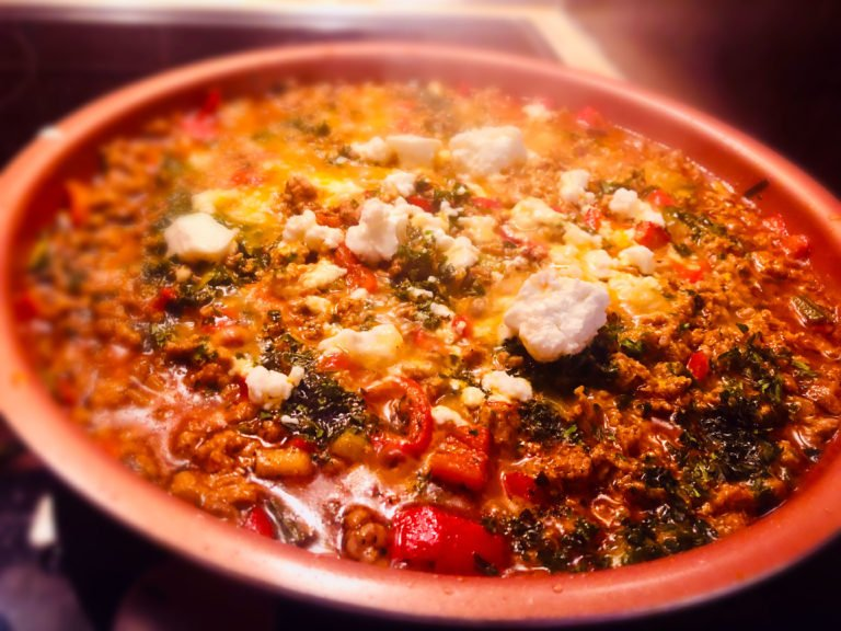 Mediterranean spring salsa goes Keto