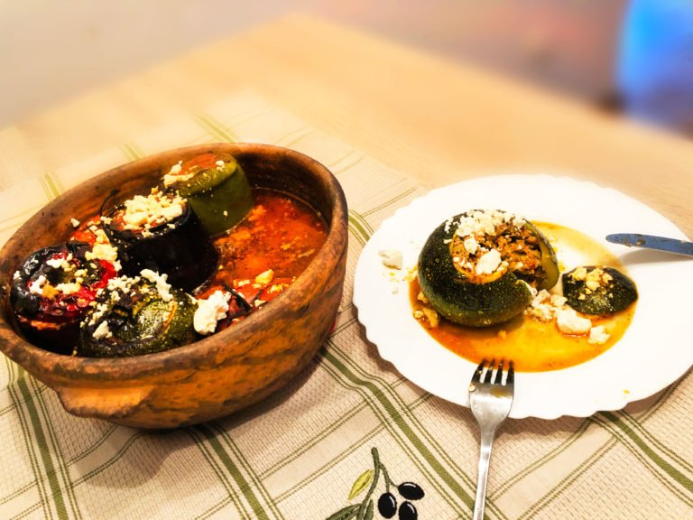 Gemista – Greek stuffed veggies with Keto macros