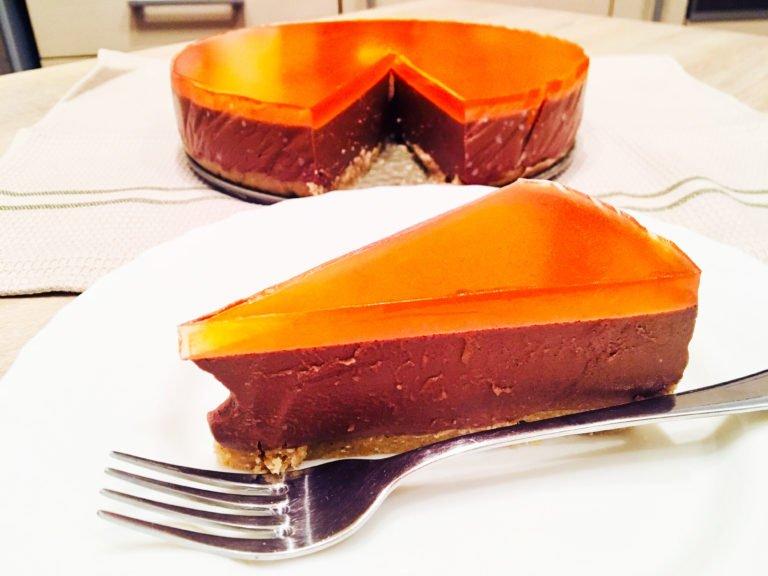 Σοκολάτα-Πορτοκάλι Κέτο Κέικ
