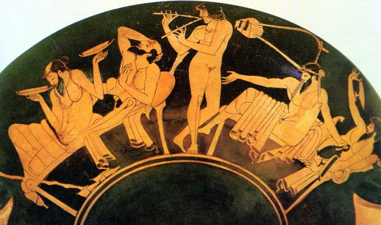 Αρχαίο ελληνικό συμπόσιο – ένα low-carb γεγονός