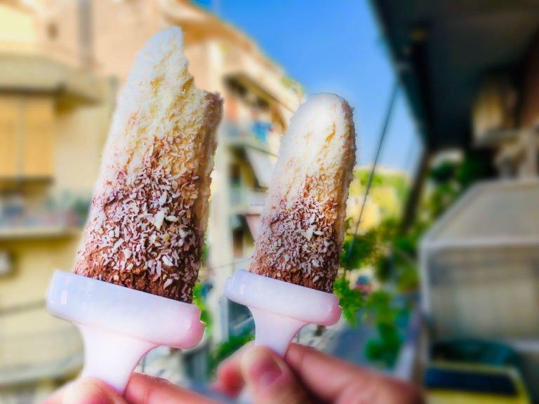 Keto Choco-Tahini Ice Pop – For the days of Sahara temperatures