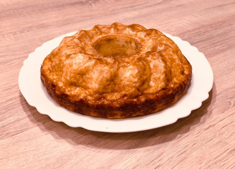 Savoury Keto Cheesecake – The easier version in a bundt pan