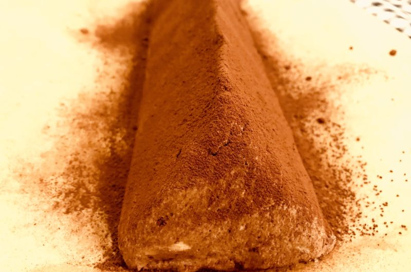 Keto dark chocolate triangles