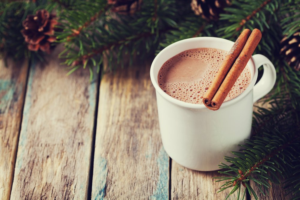 Keto Chocolate Eggnog