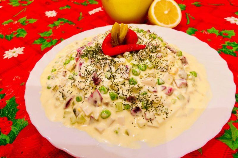 Keto Oliver salad - Greek Goes Keto version