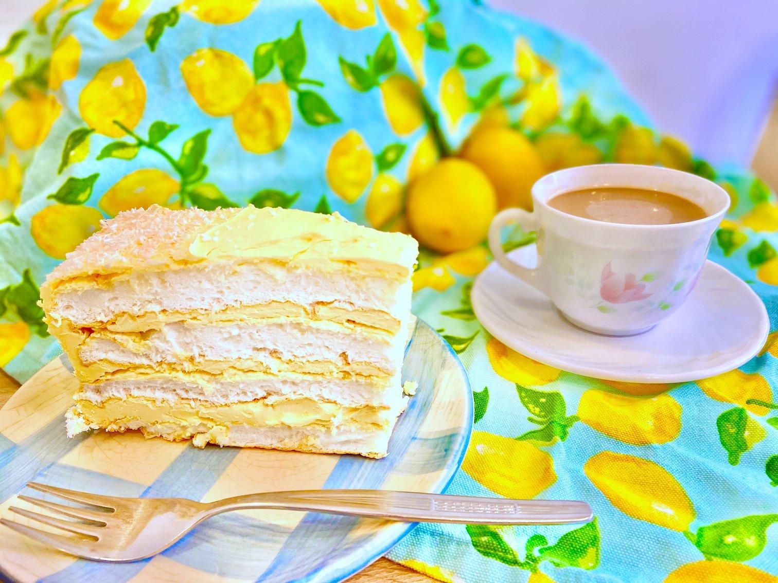 Keto angel cake