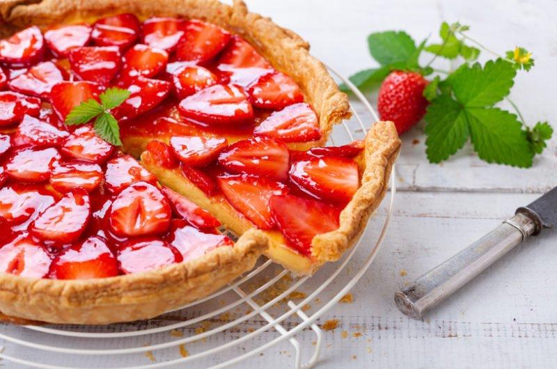 Keto Strawberry tart