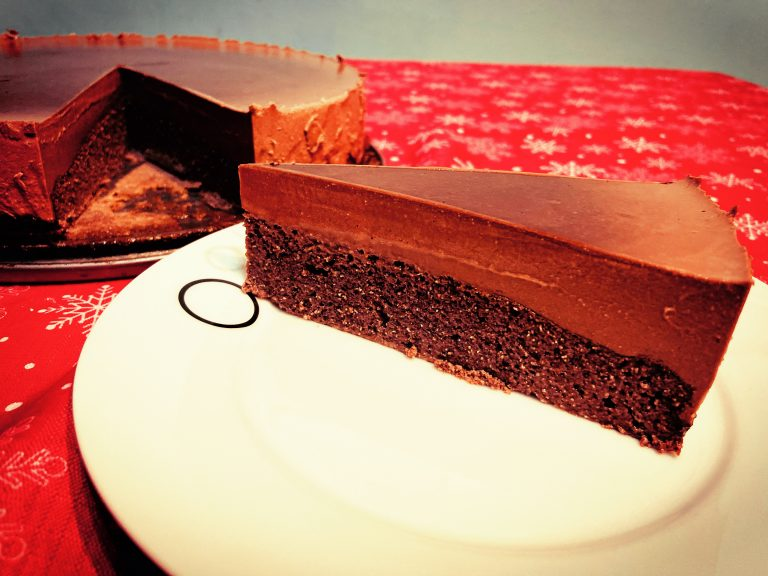 Keto December cake – cacao, spices, gelatine and love