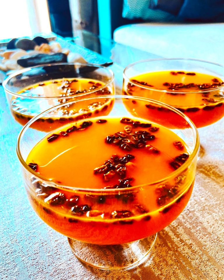 Sea buckthorn jello, healthiest Keto treat