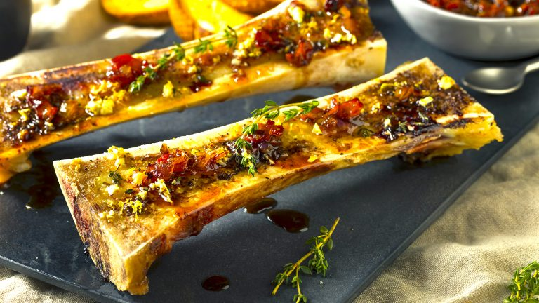 Marrowbone roast, healthy gourmetism