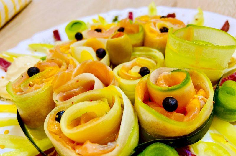 Raw Keto Mediterranean Salad