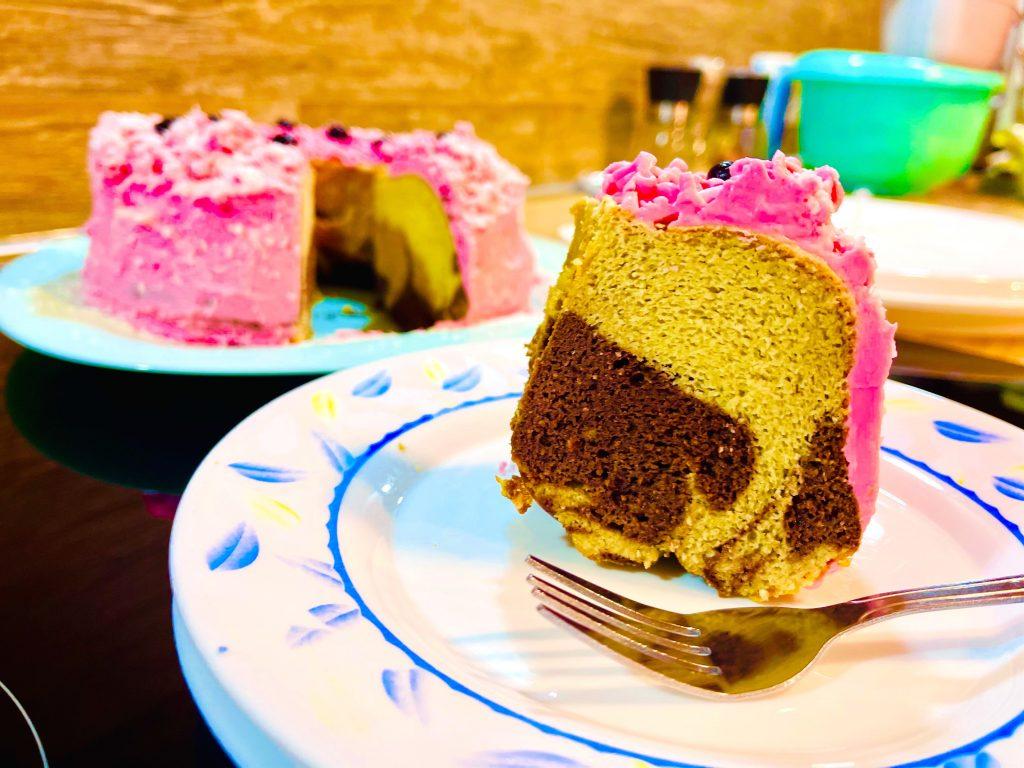 Keto spring cake