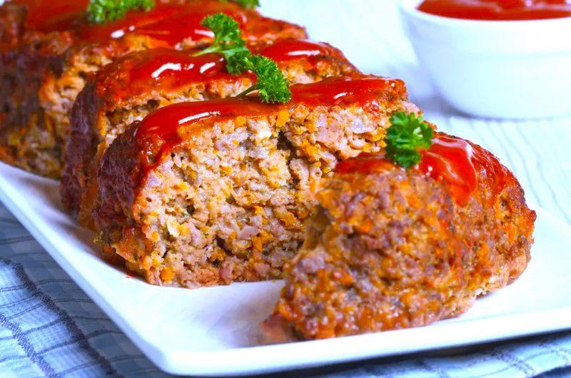 Greek Meatloaf À la Gemista