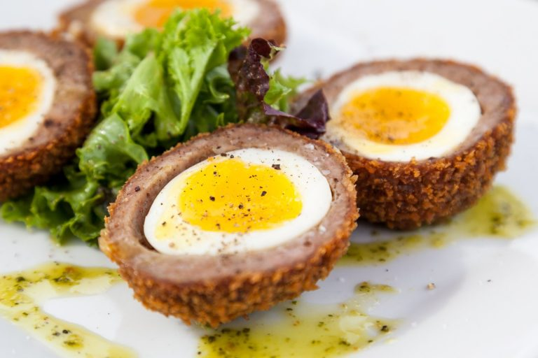 Scotch eggs went on a holiday in Greece and turned Keto