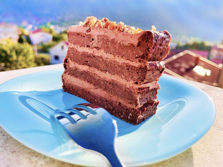 Keto chocolate cinnamon cake, flourless and heavenly treat