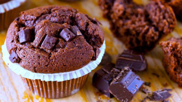 Keto chocolate muffins
